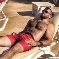 gay bear poilu baraqué